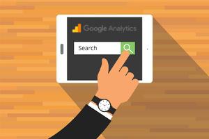 wyszukiwanie w witrynie - google analytics